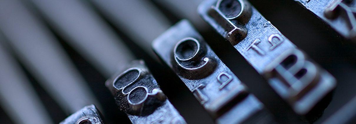 typewritter content محتوا